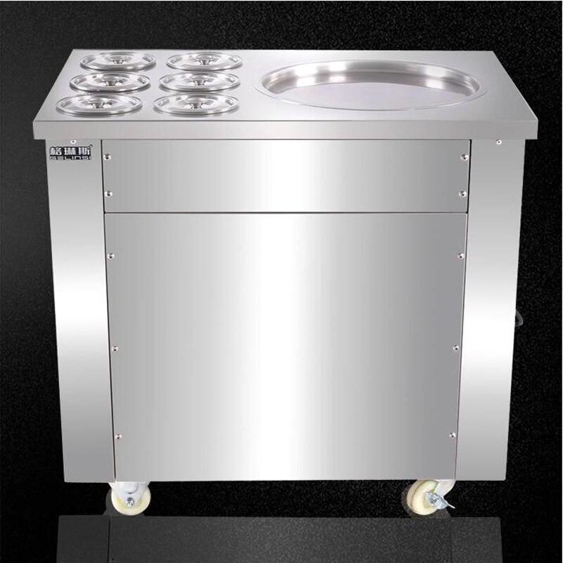 Macchina per gelato in acciaio inossidabile pieno Una padella per - Macchine utensili e accessori - Fotografia 4