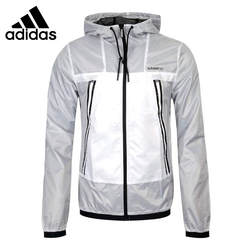 Original New Arrival   Adidas NEO Label Men's jacket Hooded Sportswear original new arrival official adidas neo women s knitted pants breathable sportswear