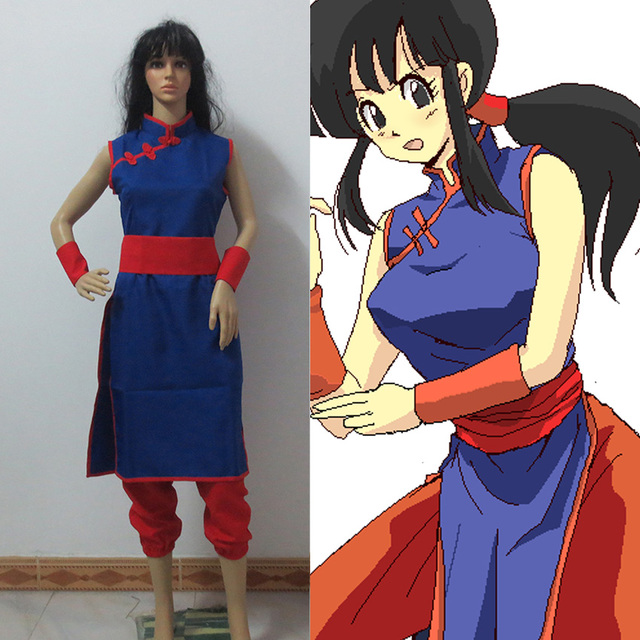 Goku and chichi cosplay