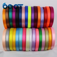 B-166910, 10 мм 31 цвет на выбор 25 ярдов шелковая атласная лента, свадебные декоративные ленты, подарочная упаковка, материалы ручной работы