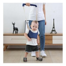 Basket Type Four Seasons Toddler With Baby Training Walking Assistant Child Traction Belt Suitable For 6-24 Months Learning
