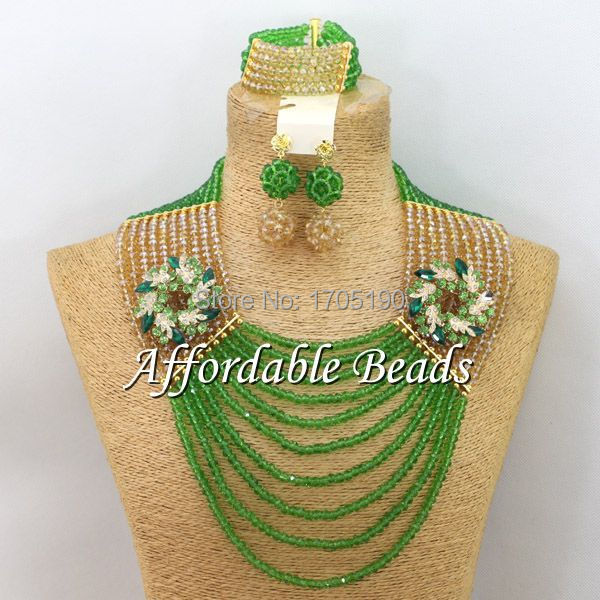 Beautiful Costume Jewelry Set Pretty Bridal Costume Jewelry