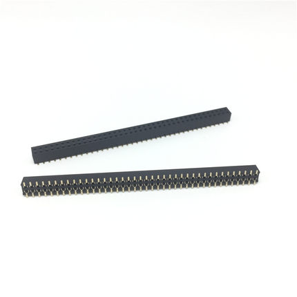 2PCS Pitch 2.54mm 80 Pin 2x40Pin SMT SMD Double Row Female Pin Header Strip PCB Connector