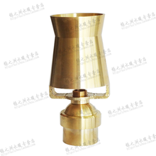 Copper 3 nozzle water fountain head water-column serac