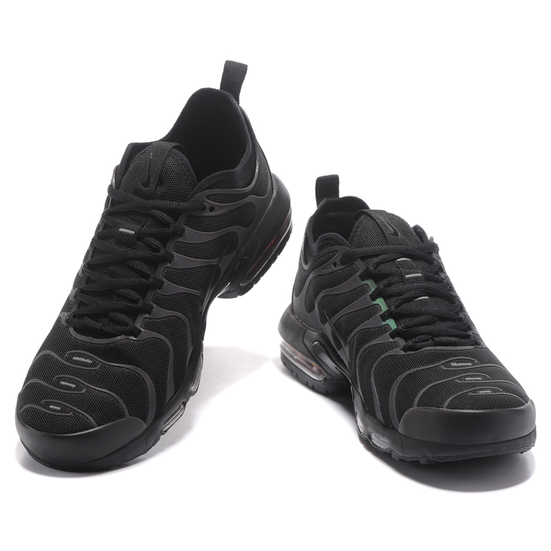 hot sale online 3abf7 05ef1 Original NIKE AIR MAX PLUS TN ULTRA Mens Running Shoes, Black, Wear  resistant Shock absorbing Breathable Non slip 898015 002-in Running Shoes  from Sports ...