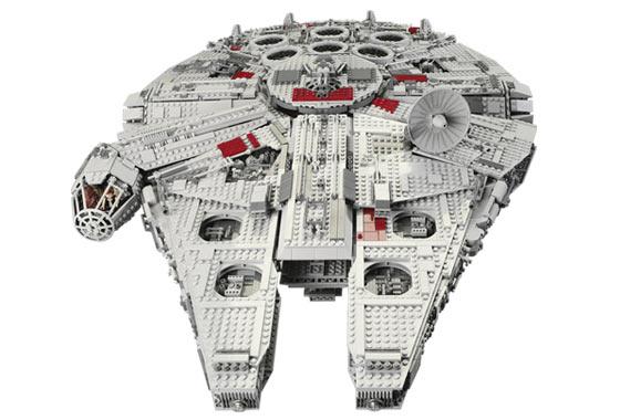 Lepin 05033 5265 unids 05028 05027 05132 estrellas Ultimate Wars collector Millennium Falcon Blocs ladrillos compatible 10179