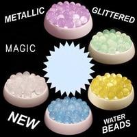 10KG LOT MAGIC GLITTERED Water Beads Crystals Soil Bio Gel Ball Beads WEDDING VASE CENTERPIECE FREE