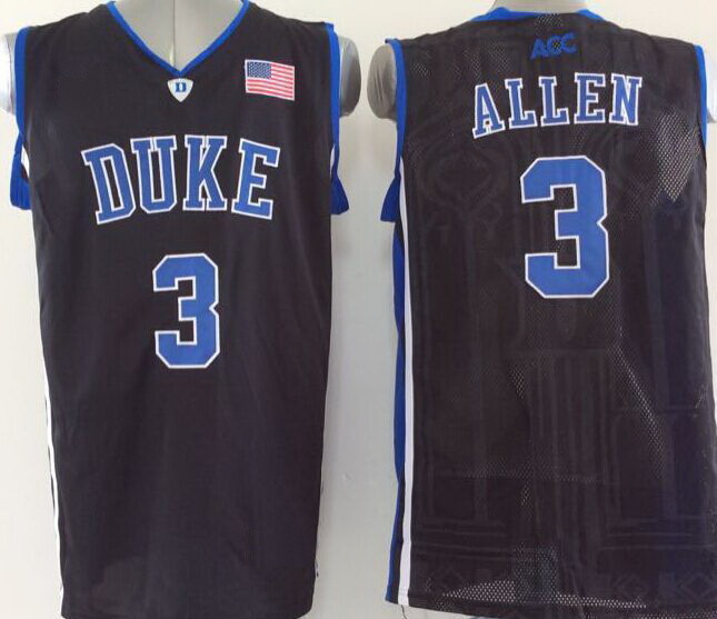 010a8dbe8c13 2016 Newest 3 Grayson Allen Jersey Duke Blue Devils College Basketball  Jersey Black White ACC Logo Stitched Top Quality Hot Sale-in Basketball  Jerseys from ...