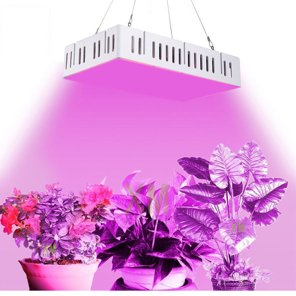 LED Plant Grow Light 300W Full Spectrum Led Grow Light Red Blue LED Beads For Hydroponics and Indoor Plants Vegetables Flowers 300w full spectrum high yield led grow light best for hydroponics indoor plants grow and flower