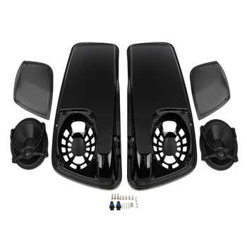 Motorcycle Top Case Saddle Saddlebag Lids W/ 5