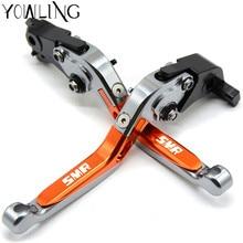 YOWLING Motorbike Brakes Adjustable Folding Extendable Brake Clutch Lever For KTM 990 SMR 990SMR 2009 2010 2011 2012 2013