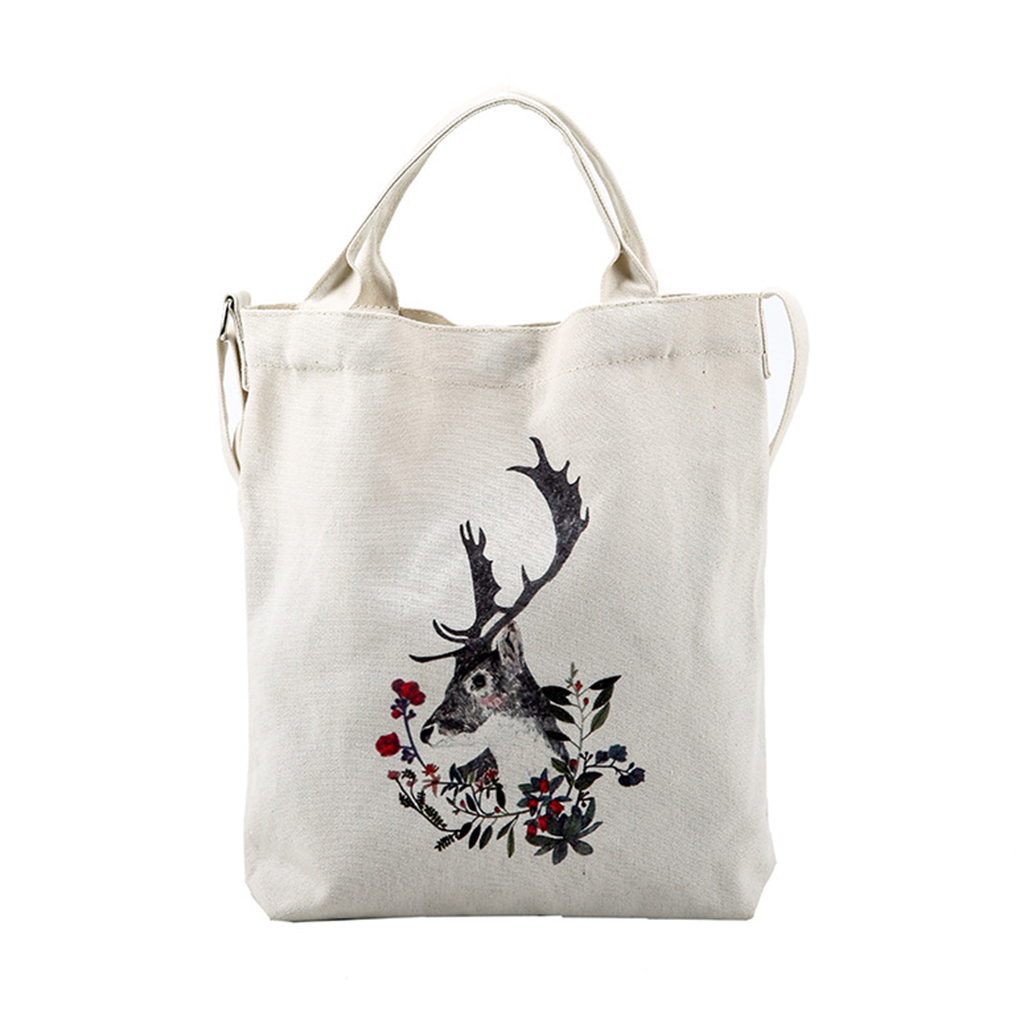 Casual Women Shoulder Bag Canvas Big Capacity White Color Famous Brand Party Clutch  Bags