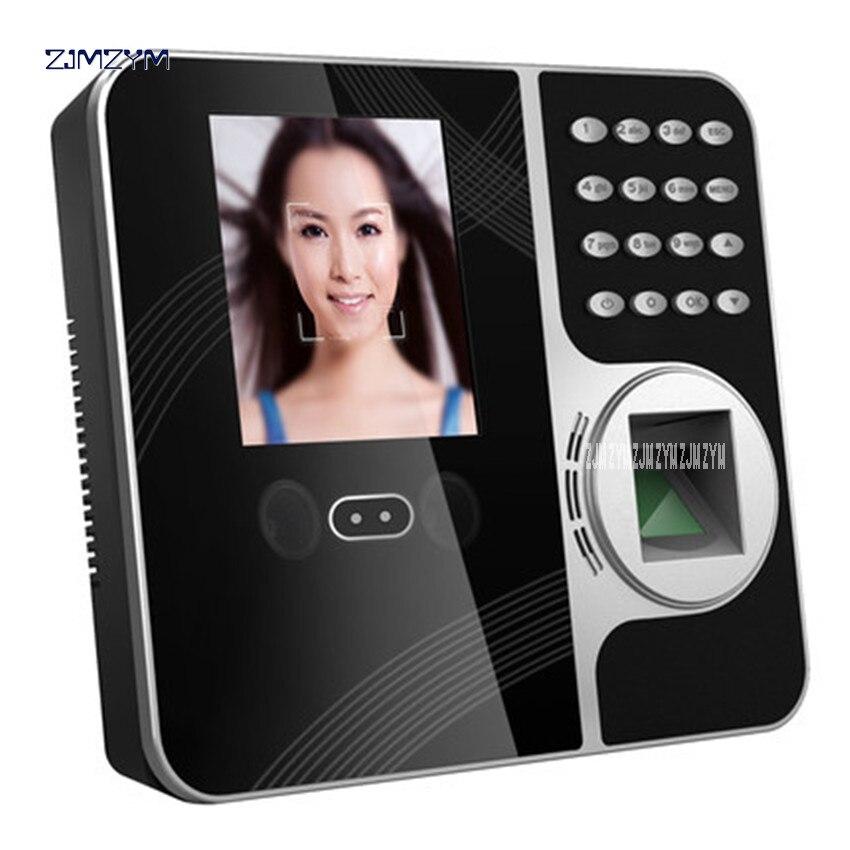 Face Recognition-fingerprint time attendance machine F491F Facial Recognition Network Remote Mobile WIFI Smart cloud attendance