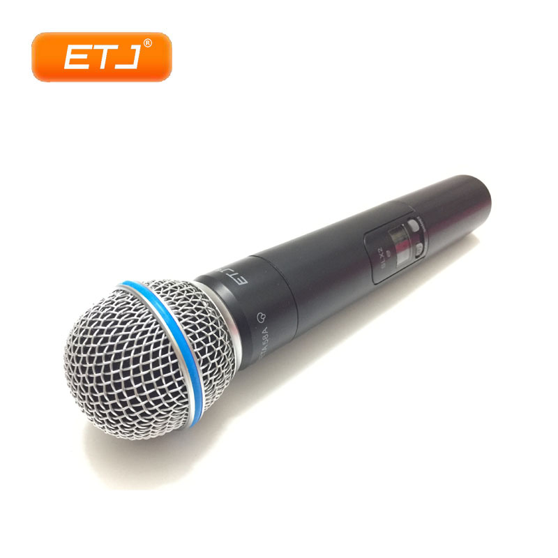 Professional Handheld Wireless Microphone Karaoke UHF Microphone SLX24/Beta58 Headset Mic Top Quality SLX2 zmvp uhf professional slx24 beta58 wireless microphone cordless slx karaoke system with handheld transmitter band r5 800 820mhz