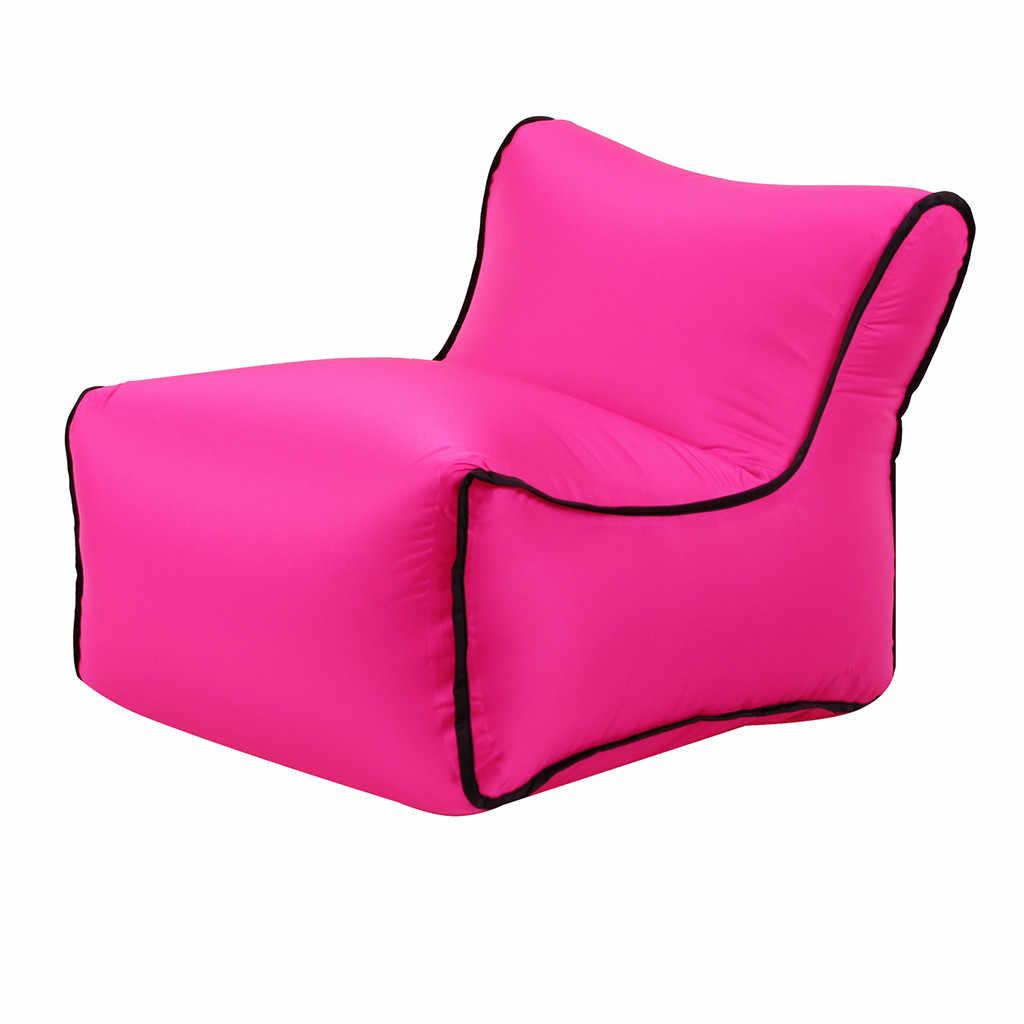 2019 balão de Ar Inflável Espreguiçadeira Preguiçoso Sofá Cadeira Sofá Sofás Preguiçosos Sacos de Festa Ao Ar Livre de Viagem de Acampamento Sem Enchimento de Cadeira Espreguiçadeira