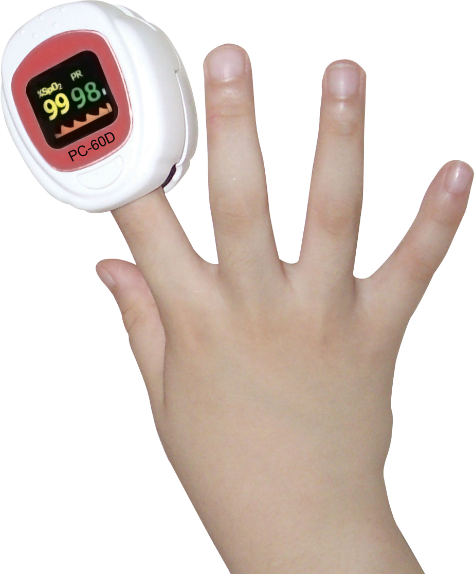 Finger Pulse Oximeter designed for adults Bright color OLED display monitoring SpO2, Pulse Rate (PR) gpyoja pulse oximeter finger oximetro gravity control pr spo2 pi saturometro pulsoximeter oled screen 4 colors