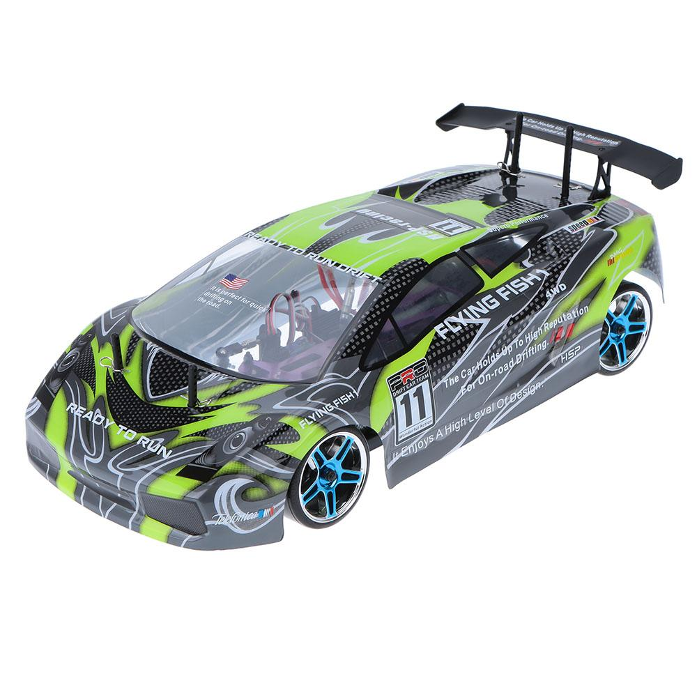 HSP Rc Car 1/10 Scale Models 4wd Electric Power Brushless On Road Racing Drift Car 94123PRO High Speed Hobby Remote Control Car hsp high speed 4poles 3650 brushless motor 3300kv 4300kv 2500kv 2720kv 4000kv for rc car boat 1 10 94123 rc car buggy monster