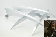 2PCS Wolverine Logan Laura Kinney X-23 Claws ABS Plasticc Cosplay Props As Gift