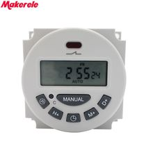 L701 CN101A 16A Digital Time Switch Weekly Programmable Electronic Timer AC 220V 110V AC/DC 24V 12V Makerele