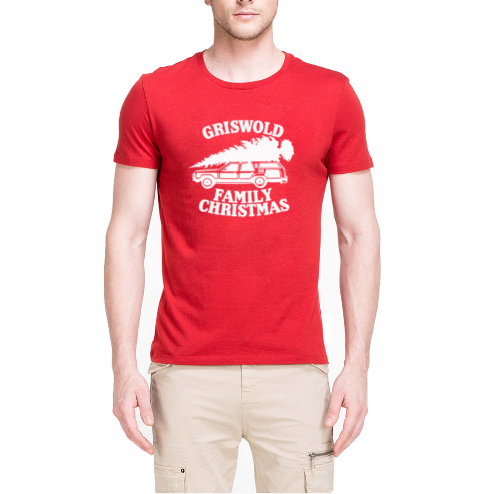 mens griswold family christmas vacation funny casual t shirts men tee