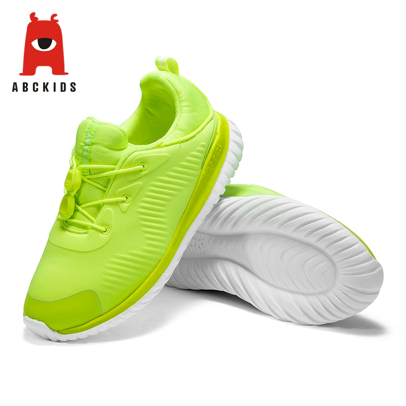 ABC KIDS New Outdoor Running Light Solid Sneakers Sport Children Casual Non slip Shoes Sneakers     - title=