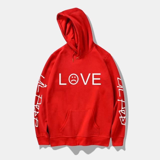 Lil peep fashion hoodies man lil peep printed sweatshirts sizes for men casual fleece streetwear hoodies Harajuku hip hop hoodie