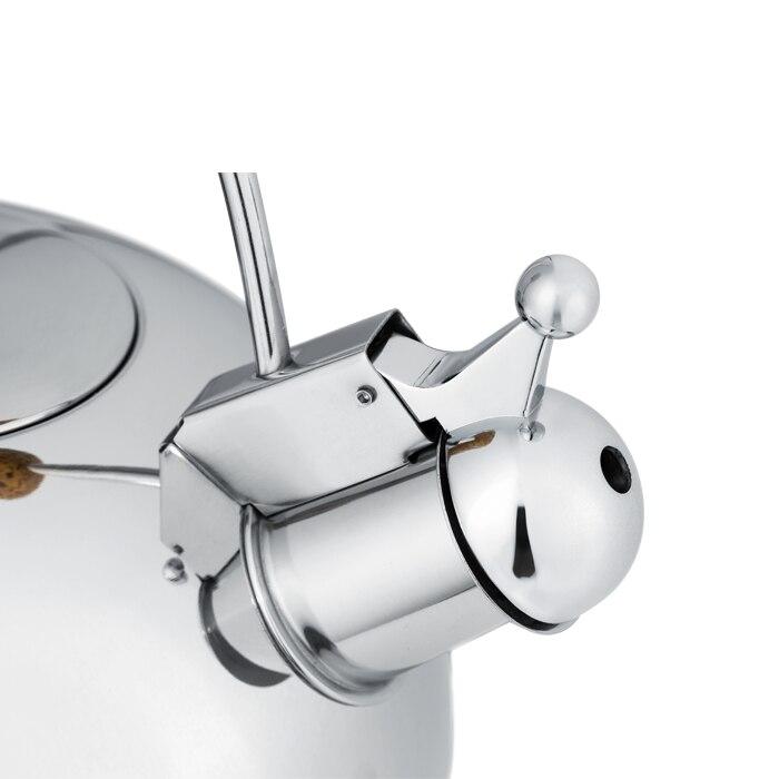 Houmaid Hoge kwaliteit rvs klinkt luid fluitketel compound zool door gasfornuis of elektromagnetische oven - 4