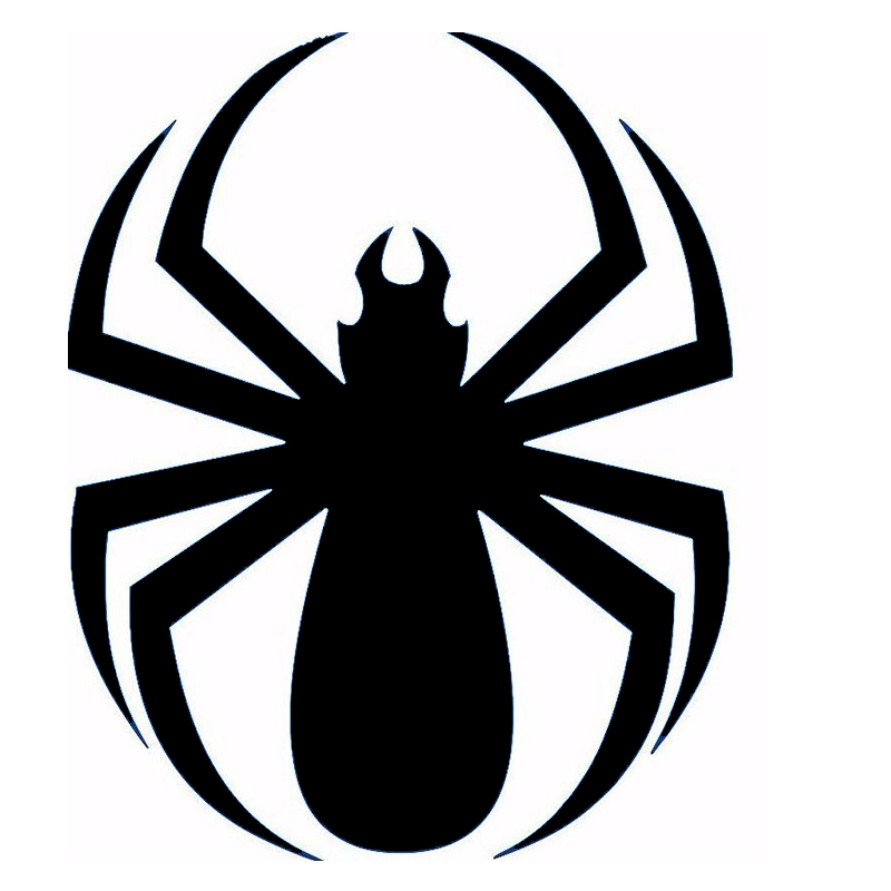 cute spider cool graphic vinyl decal fits car window truck
