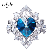 Buy brooches crystal swarovski and get free shipping on AliExpress.com 63a011c87b2b