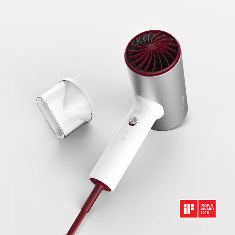 Image 2 - Xiaomi Mijia Soocas H3 Anion Hair Dryer Aluminum Alloy Body 1800W Air Outlet Anti Hot Innovative Diversion Design-in Hair Dryers from Home Appliances