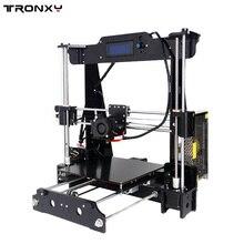 Tronxy 2016 повышен качество высокоточный reprap 3d принтер prusa i3 diy kit t818 с мега 2560 автоматическое выравнивание