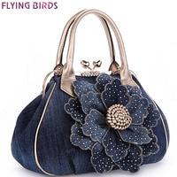 FLYING BIRDS Designer Women Handbag Vintage Flower Women S Tote Women Messenger Bags Ladies Purse Shoulder