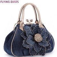 FLYING BIRDS Designer Women Handbag Vintage Flower Women's Tote Women Messenger Bags Ladies Purse Shoulder Bag Bolsas LM3361