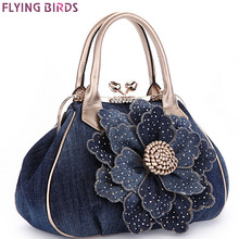 FLIEGEN-VÖGEL designer frauen handtasche vintage frauen tote frauen messenger bags damen handtasche schultertasche bolsas LM3361