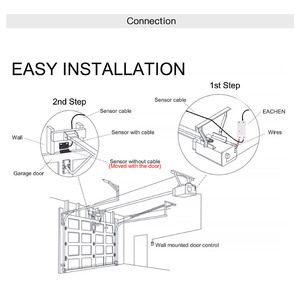 Image 5 - WiFi חכם מוסך דלת בקר פותחן חכם חיים/Tuya APP מרחוק תואם עם Alexa הד Google בית אין רכזת דורש