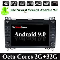 32G ROM 4G WIFI 2din DVD GPS Head unit for Mercedes Benz B200 A B Class W169 W245 Viano Vito W639 Sprinter W906 Bluetooth Radio