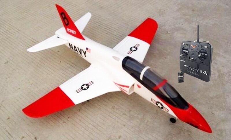 TSRC 70MM EDF Arrow RC RTF Plane Model W/ Brushless Motor Servo 30A ESC Battery tsrc epo 50mm edf a10 warthog 30a esc rc airplane rtf model
