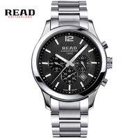 Read marki topy 2017 wielofunkcyjny pełna stal zegarki dla mężczyzn multiple time zone szafirowe z drugiej ręki 8083gq kalendarz