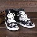 Encaje de Las Mujeres Del Tobillo Botas de Lluvia Plana Con Impermeables Welly Botas Rainboots zapatos de Agua de Algodón En El Interior Del Zapato Original de Marca DX206