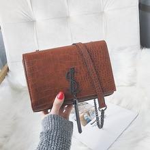 New Fashion Crocodile leather Bag Chain Shoulder Bags Woman Famous Brand Luxury Handbags Women Bags Designer Totes bags все цены
