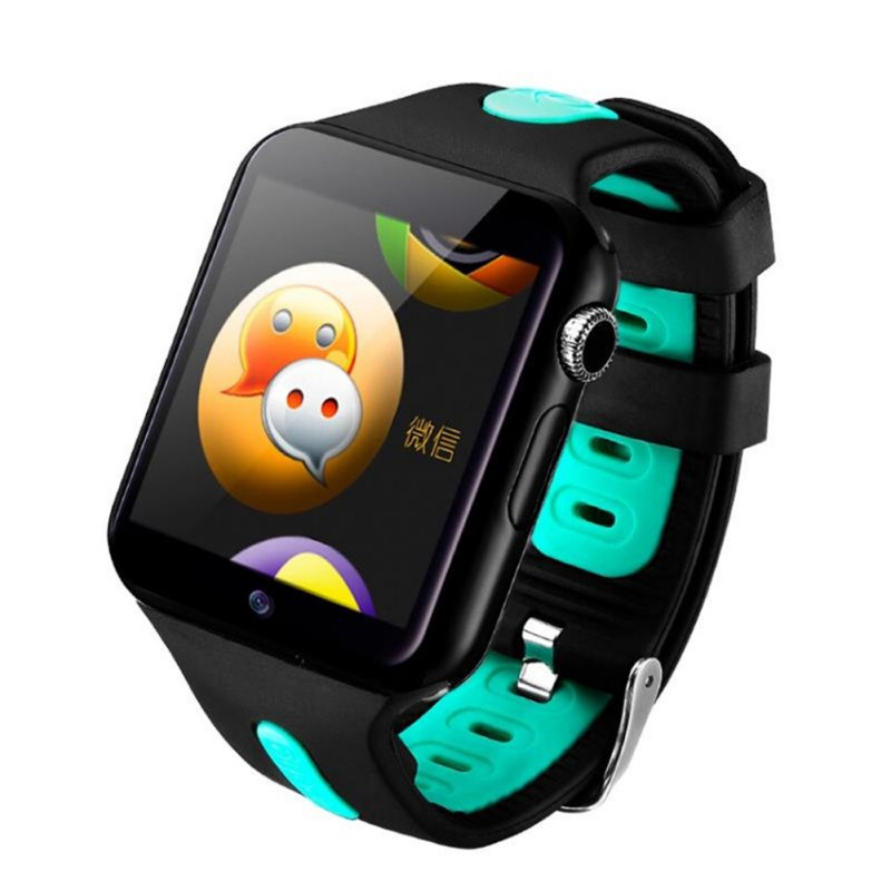 Kids Smart Watch Waterproof 3G Wifi Smart Watch GPS Safe Sport Fitness Tracker Downloadable APP Multi-Language Optional image