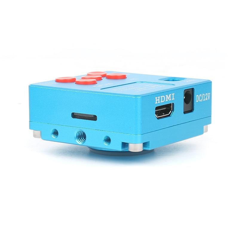 30MP HDMI industrial USB vertical microscope camera 3.5X-90X stereo trinocular microscope repair phone microscope