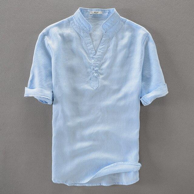 Aliexpress.com: Comprar Cielo azul 100% camisas hombres