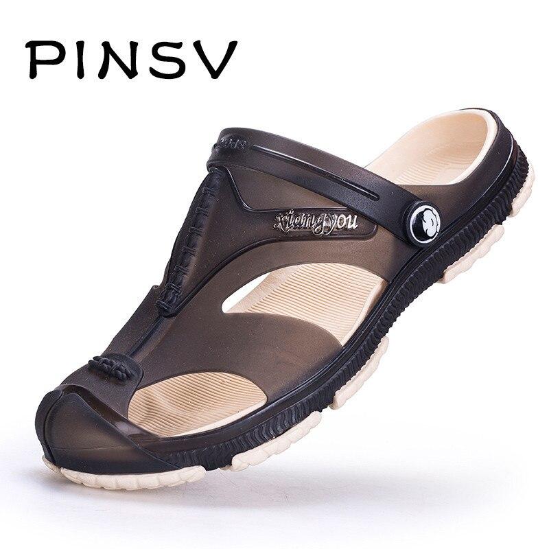 Sandals Men Summer Shoes Sneakers Men Beach Sandals Clogs Men Slippers Sapato Masculino Big Size 39-47