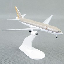 Mini 1:500 Scale Model Airplane Toys Asiana Airlines Boeing 777-200 Diecast Aircraft Air Plane Precision Model Gift Collection