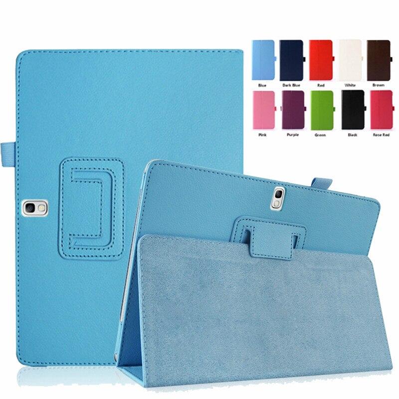 PU Leather Case For Samsung Galaxy Tab Pro 10.1 SM-T520 SM-T521 SM-T525 Stand Cover for Note 10.1 2014 SM-P600 SM-P601 SM-P605