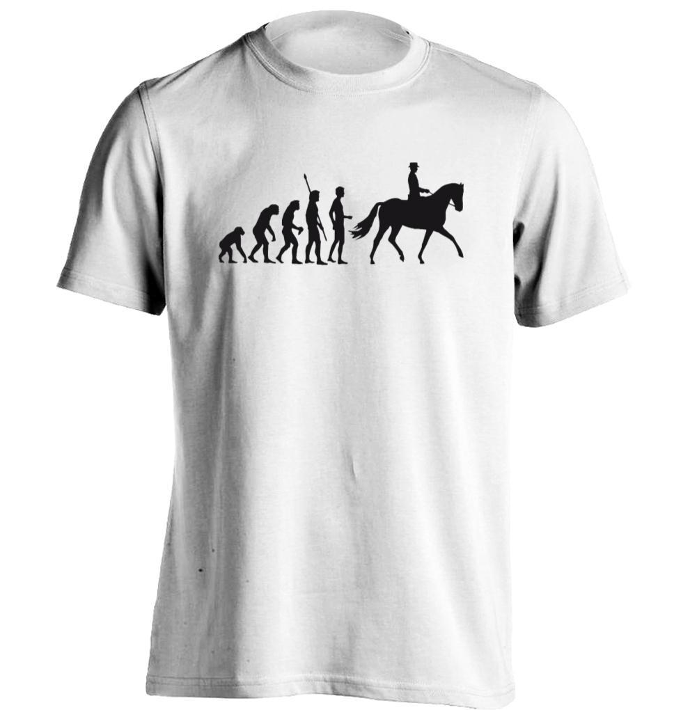 Horse Riding Evolution Mens Womens Personalized T Shirt Custom T