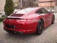 SHCHCG 2012 2013 2014 2015 Year For Porsche Carrera 911 991 Car Styling Carbon Fiber Rear Lip Roof Spoiler Trunk Boot Wing