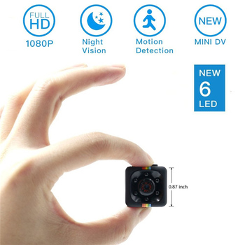 SQ11 Full HD 12M 1080P Mini Camera Camcorder Night Vision Motion Detection