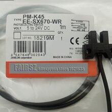 10 шт/лот U-паз фотоэлектрического переключателя PM-K45 EE-SX677-WR с 1 м проволокой небольшого размера оригинальные импортные компоненты хорошего качества